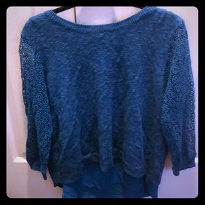 Lucky brand sweater top